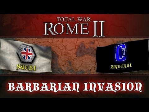 Total War: Rome II - Barbarian Invasion with Chadman - Episode 26