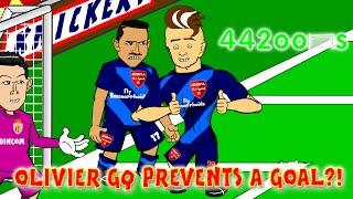 getlinkyoutube.com-🏆MONACO vs ARSENAL 2-0🏆 (Champions League 2015 Giroud Ramsey Highlights Goals)