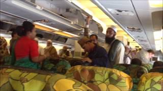 getlinkyoutube.com-Biman Bangladesh Airlines (inside airplane)