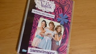 getlinkyoutube.com-Disney Violetta Sammelmappe