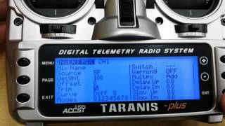 getlinkyoutube.com-FrSky Taranis throttle failsafe programming