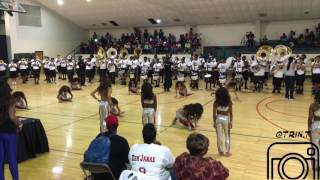 Dancing Dolls [DD4L] Fieldshow with the Mississippi Alumni Allstar Band (2016) in 4K