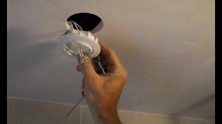 getlinkyoutube.com-Empotrar focos halógenos en techo de escayola