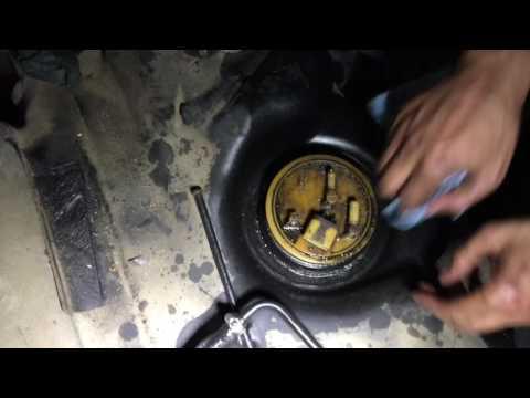2005 Sprinter fuel pump replacement, Спринтер замена топливного насоса