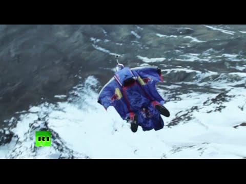 Historic Kilimanjaro BASE jump Go-pro RAW