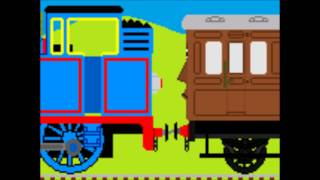 getlinkyoutube.com-Geo & Sonic Meets Thomas Thomas' Branch Line Adventures Part 1