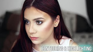 HOW TO: CONTOUR AND HIGHLIGHT - EASY (DRUGSTORE ONLY)