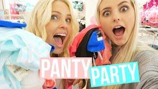 getlinkyoutube.com-PANTY PARTY TIME! | Aspyn + Parker