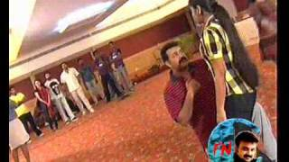 getlinkyoutube.com-Mammootty & Kunchacko Boban in the funniest moment of Suryathejassode AMMA rehearsal camp - CFN