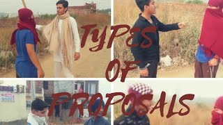 THE DAMPS : TYPES OF PROPOSALS