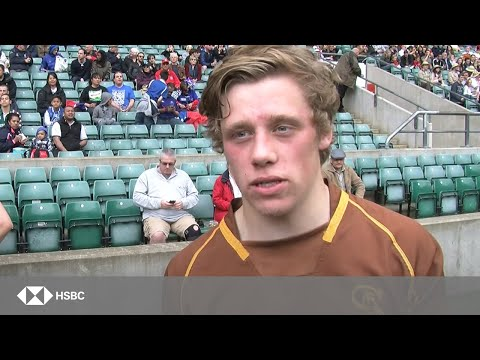 Sedbergh School Play At Twickenham in the HSBC Rosslyn Park Champions Game