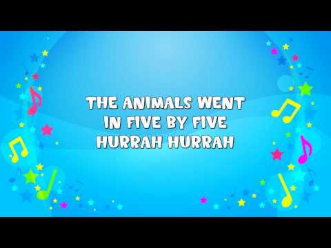 The Animals Went In Two By Two Sing-A-Long -Ntct8NvIByY