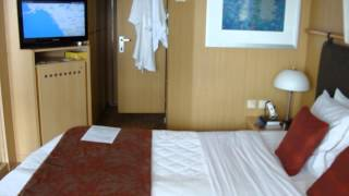 getlinkyoutube.com-Celebrity Infinity Deluxe Oceanview Stateroom with Veranda (Balcony) 5/10/12