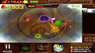 getlinkyoutube.com-2271!!! - WORLD RECORD - Fruit Ninja Frenzy Facebook - NO CHEATS / HACKS
