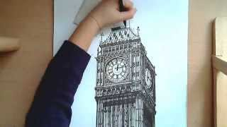 Realistic Drawing: Big Ben