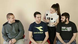 getlinkyoutube.com-Hair2U - Barberette Suzana Shaves 3 Men Preview