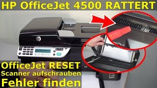 getlinkyoutube.com-HP OfficeJet 4500 rattert und klappert beim Scannen - ggf. reparieren FIX
