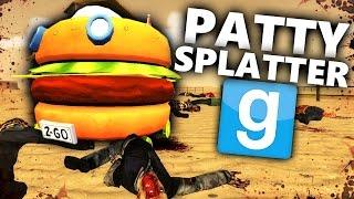getlinkyoutube.com-PATTY WAGON ZOMBIE SPLATTER?! | Gmod Zombies vs Spongebob