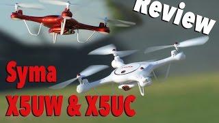 getlinkyoutube.com-Syma X5UC & X5UW Wifi & FPV HD Camera Quadcopter Review