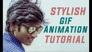 Create Stylish Gif Animation of Yourself - Tutorial - Fantamorph - #Share This Video