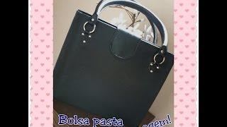 getlinkyoutube.com-Bolsa Pasta Cartonagem