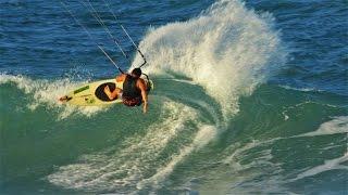 getlinkyoutube.com-STRAPLESS HEAVEN - Kitesurfing Drone Footage Encuentro Beach