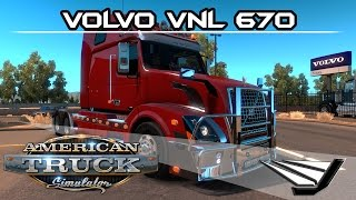 getlinkyoutube.com-American Truck Simulator #8 - Volvo VNL 670 | MHA Pro Map |