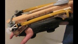 getlinkyoutube.com-Assassins Creed Sling-Bow! (Wrist Mounted crossbow)