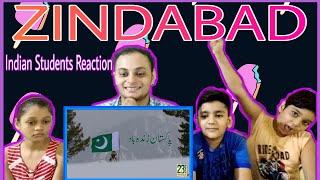 Pakistan Zindabad  ISPR  Indian Students Reaction