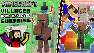 getlinkyoutube.com-VILLAGER HOME MAKEOVER SURPRISE!  Minecraft Furniture Mod Fun w/ FGTEEV Duddy & Chase (Showcase)