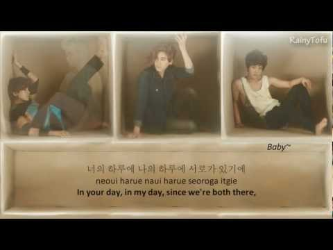 Super Junior - Haru ~ lyrics on screen (KOR/ROM/ENG)