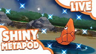 getlinkyoutube.com-Live Shiny Metapod (Caterpie - Chain of 17 on Fast Music) Pokemon Y | Shiny Living Dex (11/721)