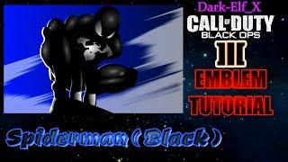 getlinkyoutube.com-Black Ops 3 Emblem - Spiderman (Black)