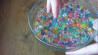 getlinkyoutube.com-Hydrogel Гидрогель Аквагрунт Water Balz time lapse Polymer