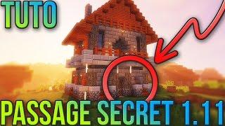 PASSAGE SECRET 1.11 FACILE! | Minecraft