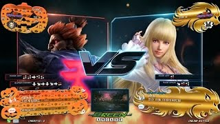 getlinkyoutube.com-TEKKEN 7 Fr 10/28 Chanel(Akuma) vs Foward(Lili) (철권7 Fr 샤넬 vs 포워드)