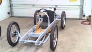 getlinkyoutube.com-Cyclekart (Monocar) chassis complete   video of details
