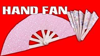 getlinkyoutube.com-HOW TO MAKE A CHINESE HAND FAN