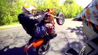 getlinkyoutube.com-KTM 640 Wheelie Fail - Bye Bye KTM