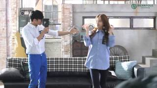 getlinkyoutube.com-Kim Soo Hyun & Suzy | 2014 Beanpole Outdoor Windbreaker making film