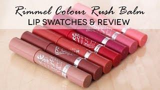 getlinkyoutube.com-Rimmel Colour Rush Balm | Swatch & Review