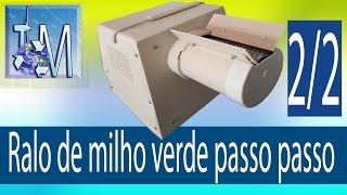 getlinkyoutube.com-Ralo de milho verde passo a passo 2 de 2