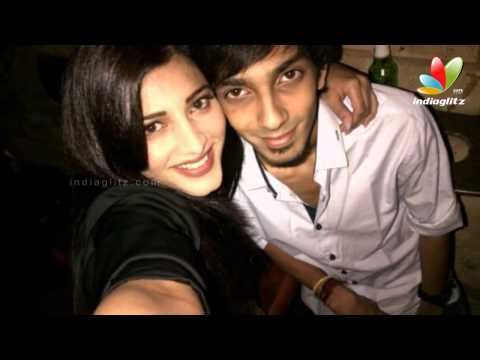 Anirudh & Sruthi hasan sing for Imman | Hot Tamil Cinema News | Lip Kiss