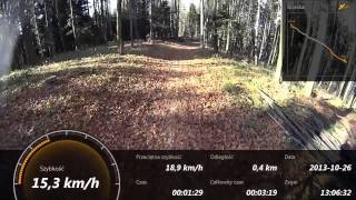 getlinkyoutube.com-Sony Action Cam HDR-AS30 GPS Test on bike AS30