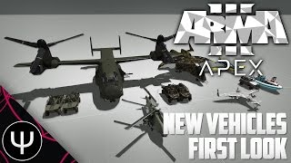 getlinkyoutube.com-ARMA 3: Apex Expansion — New Vehicles First Look!