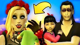 DRACULAURA'S BABY SIBLING // The Sims 4 VAMPIRES (Part 11)
