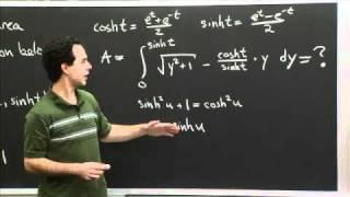 Hyperbolic Trig Sub   MIT 18.01SC Single Variable Calculus, Fall 2010