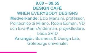 Forskartorget - WHEN EVERYBODY DESIGNS