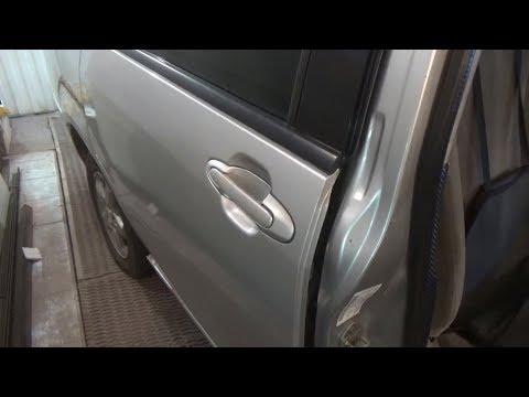 Как снять заднюю дверь. Mazda MPV.