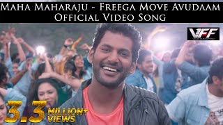 getlinkyoutube.com-Maha Maharaju - Free'ga Move Avudaam Official Video Song  | Vishal, Hansika  | Hip Hop Tamizha